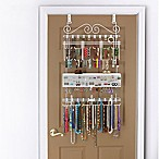 Over-the-Door Jewelry Organizer in White