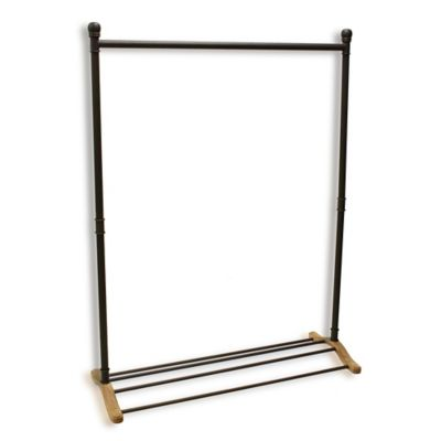 Refined Closet Metal Garment Rack
