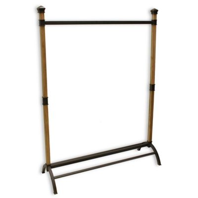 Metal Wood Storage Rack