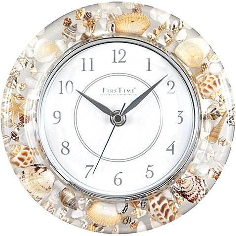 Firstime 174 Sands Of Time Wall Clock Bed Bath Amp Beyond
