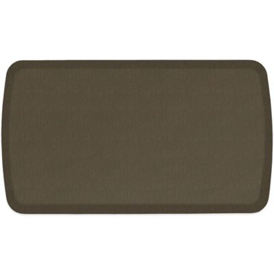 GelPro® Elite 20-Inch x 48-Inch Mosaic Floor Mat in Putty