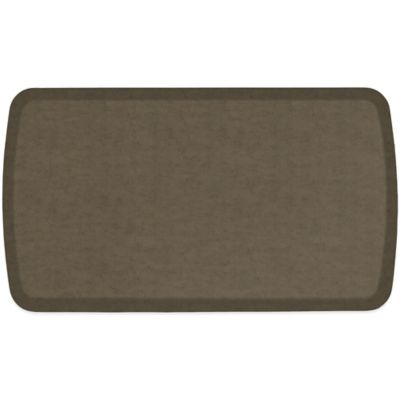 GelPro® Elite 20-Inch x 36-Inch Vintage Leather Comfort Floor Mat in Mushroom