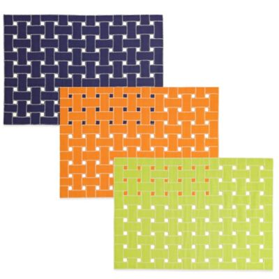 Echo Design™ Lattice Placemat in Apricot