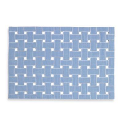Echo Design™ Lattice Placemat in Blue
