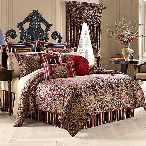 J Queen New York Roma Comforter Set Bed Bath Amp Beyond