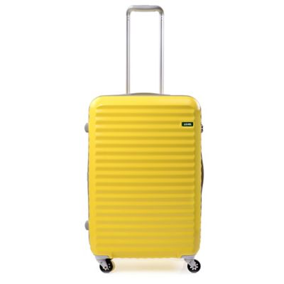 Lojel Groove Zipper 24-Inch Spinner Luggage in Yellow