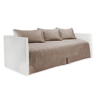 Real Simple® Dune Daybed Bedding Set in Taupe