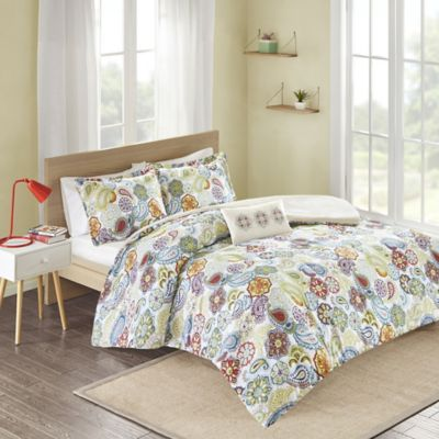 Tamil Twin/Twin XL Duvet Cover Set