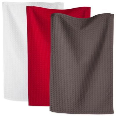 Set of 2 Waffle Kitchen Towels