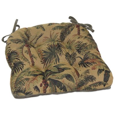 New Island Cove Faux Suede Chair Pad