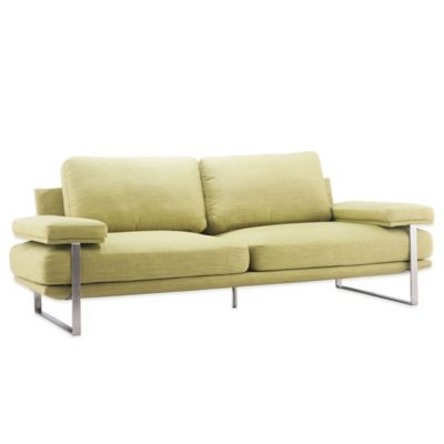 Zuo® Modern Jonkoping Sofa in Lime