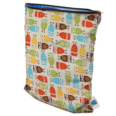 Planet Wise Medium Wet Bag in Owl