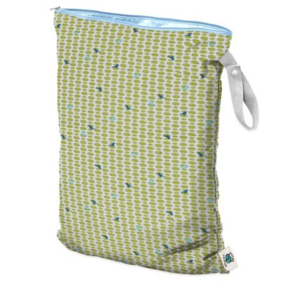 Planet Wise Large Wet Bag in Meadow Tweets