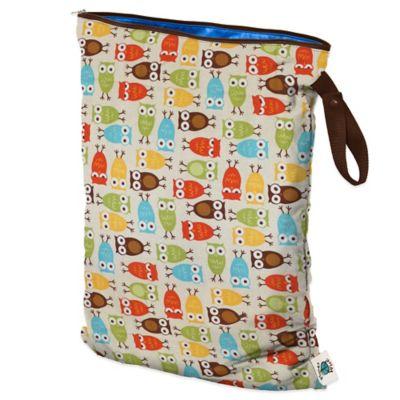 Large Wet Bag in Owl