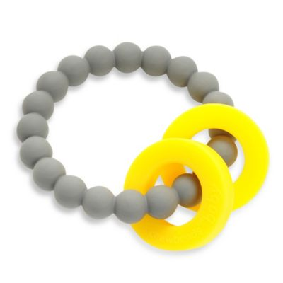 Chewbeads Mulberry Teether in Grey