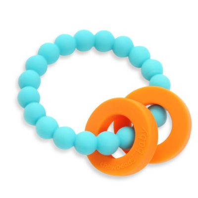 Chewbeads Mulberry Teether in Turquoise