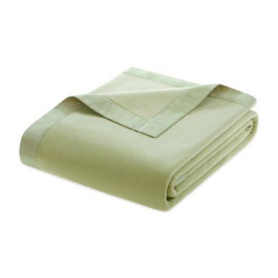 Blue Microfleece Blanket