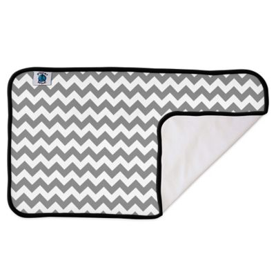 Portable Changing Pads > Planet Wise Designer Changing Pad in Grey Chevron