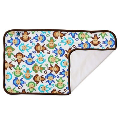Portable Changing Pads > Planet Wise Designer Changing Pad in Monkey Fun