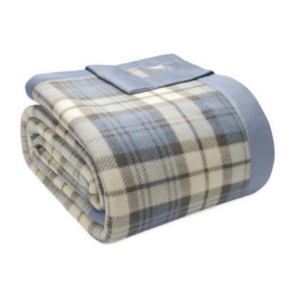 Plaid Washable Blanket