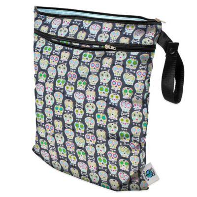 Planet Wise Wet/Dry Bag in Carnival Skulls