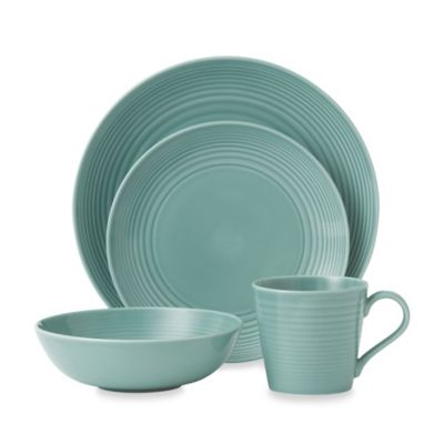 Gordon Ramsay by Royal Doulton 4-Piece Place Setting in Teal