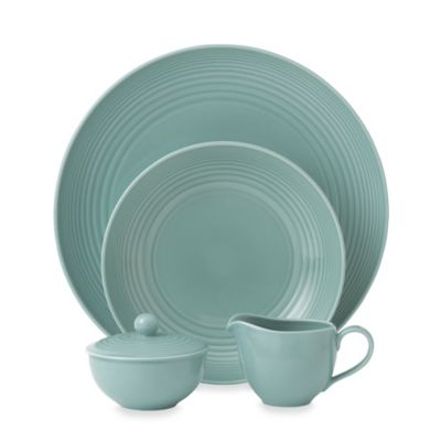 Gordon Ramsay by Royal Doulton Maze 5-Piece Completer Set in Teal