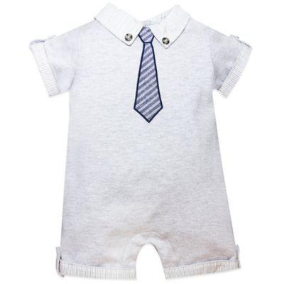 Wendy Bellissimo™ Size 12M Tie Romper in Grey