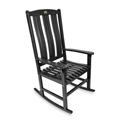 Outdoor Rocking Chair in Black
