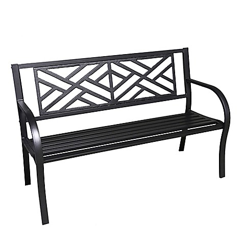 Buy Maze Cast Iron Park Bench From Bed Bath Beyond