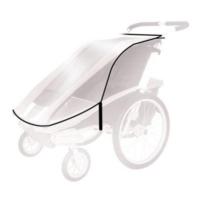 Thule® Active with Kids Rain Cover for Thule Chariot CX1/Chariot Cougar 1 Child Carrier