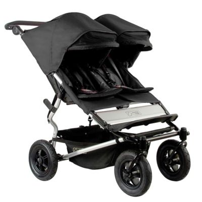 Mountain Buggy® Duet Double Stroller in Black