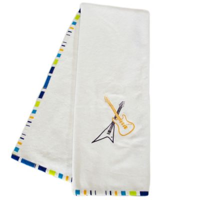 Pam Grace Creations Rockstar Bath Towel (Set of 2)