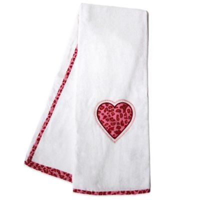 Red Kids Bath Towels
