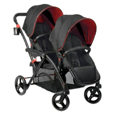 Contours® Options® Elite Tandem Stroller in Red/Black