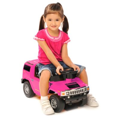 Kid Motorz Hummer H2 Foot-to-Floor Ride-On in Pink
