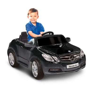 Kid Motorz Mercedes Benz E550 1-Seater 6-Volt Ride-On in Black