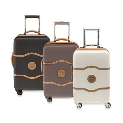 DELSEY Chatelet 21-Inch Upright Spinner Trolley Champagne