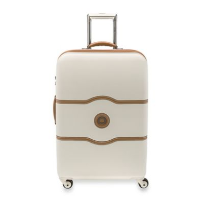 DELSEY Chatelet 24-Inch Upright Spinner Trolley in Champagne