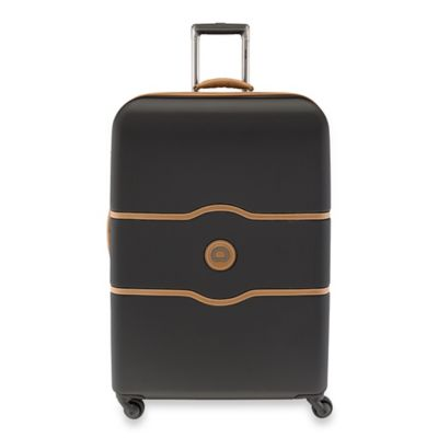 DELSEY Chatelet 28-Inch Upright Spinner Trolley in Black