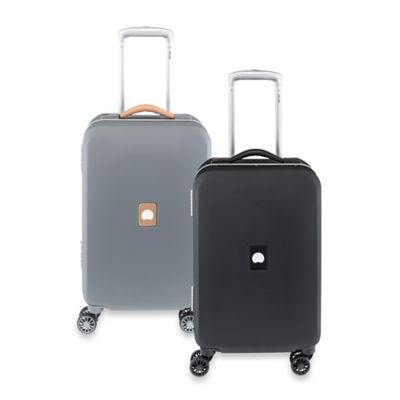 DELSEY Honore+ 18.5-Inch Carry-On Spinner Trolley in Black