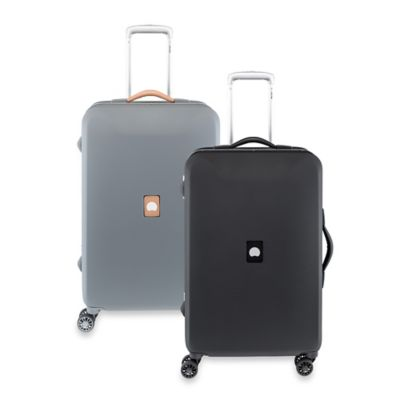 DELSEY Honore+ 23.5-Inch Upright Spinner Trolley in Black
