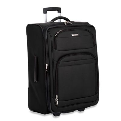 DELSEY Helium Quantum 29-Inch Expandable Upright Trolley in Black