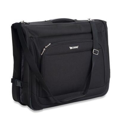 DELSEY Helium Quantum Garment Bag in Black