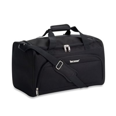DELSEY Helium Quantum Carry-On Duffle in Black