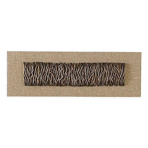 Tea Branch Twig over Linen Wall Panel Bed Bath Beyond