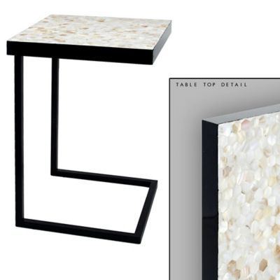 Mother of Pearl Accent Table
