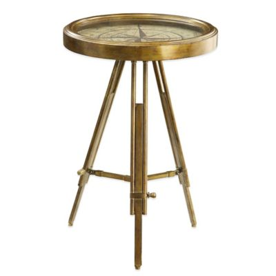Bombay® Latitude Compass Table