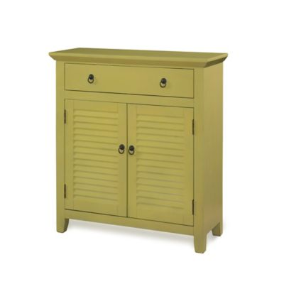 Powell Honey Butter Console 1 Drawer 2 Doors