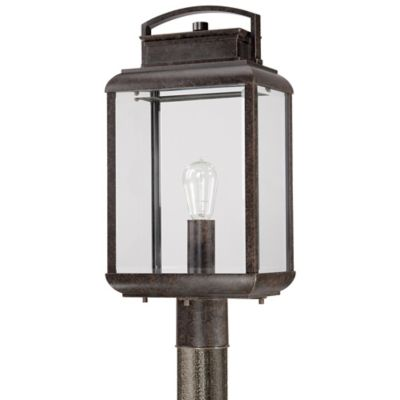 Quoizel Byron Outdoor Post Lantern in Imperial Bronze